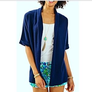 🌴Lilly Pulitzer Belmont SS Cashmere cardigan